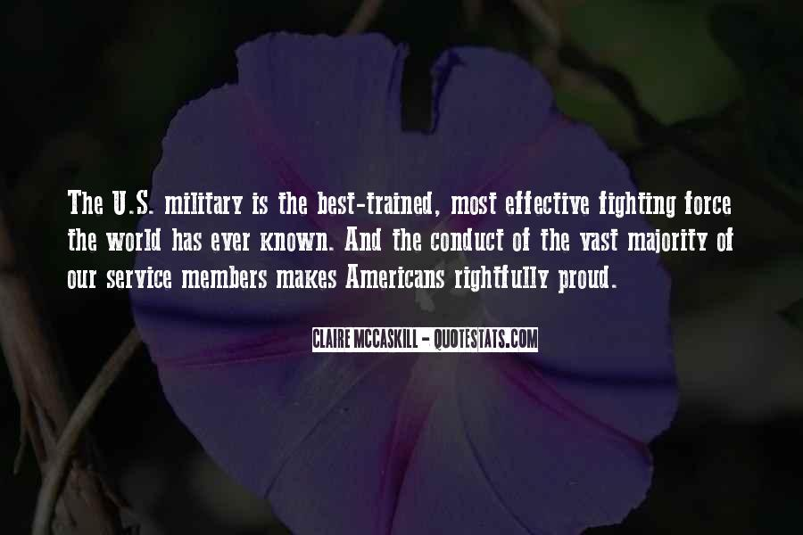 Quotes About The Military Service #1246807