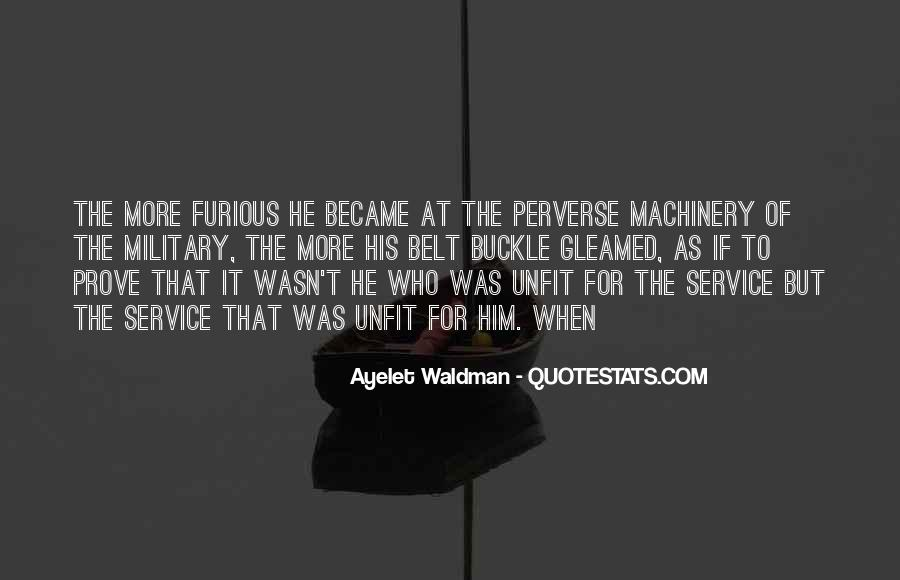 Quotes About The Military Service #1293751