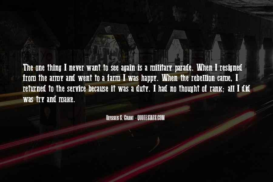 Quotes About The Military Service #1518137
