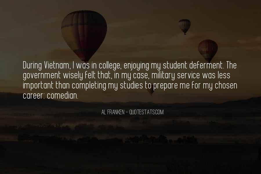 Quotes About The Military Service #179501