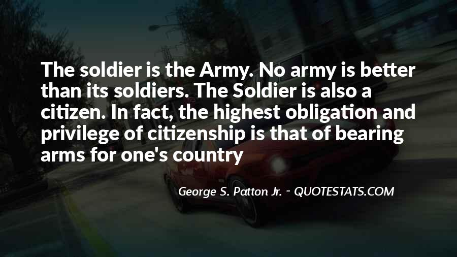 Quotes About The Military Service #220725