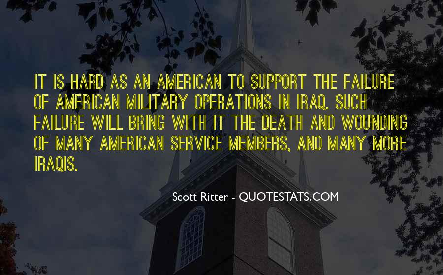 Quotes About The Military Service #236116