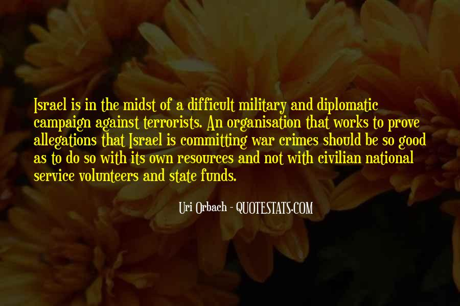 Quotes About The Military Service #244024
