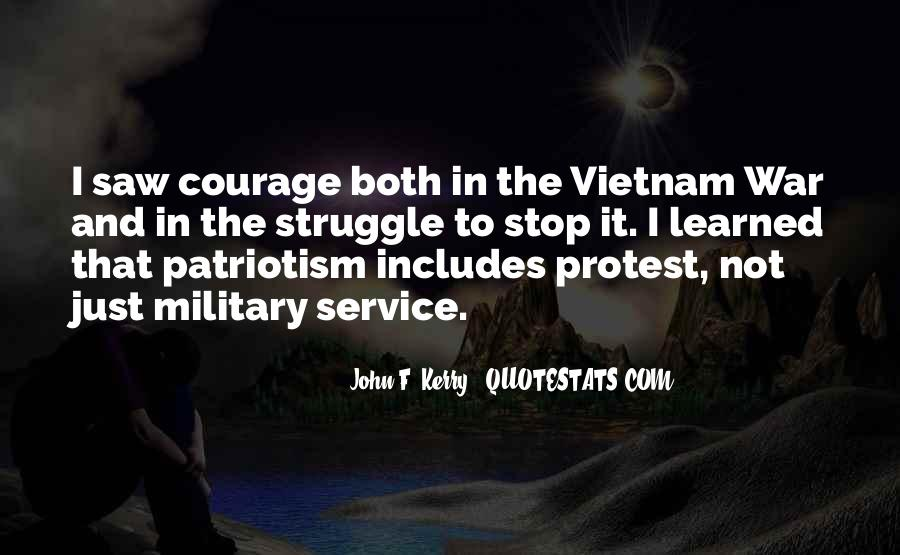 Quotes About The Military Service #43469
