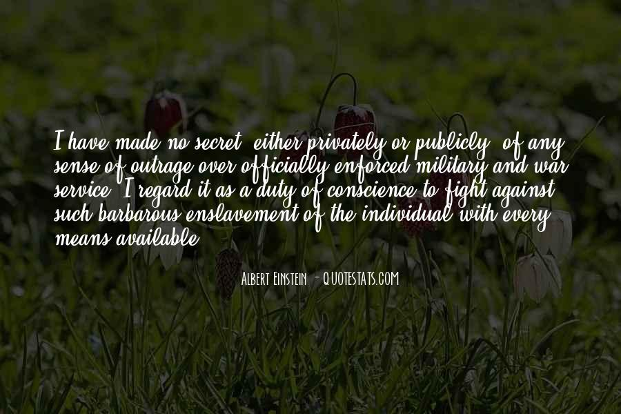 Quotes About The Military Service #628145