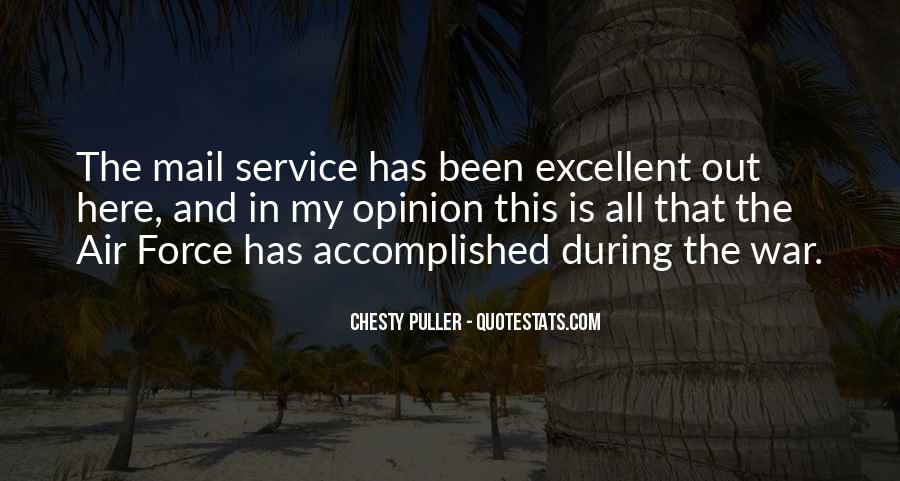 Quotes About The Military Service #891561