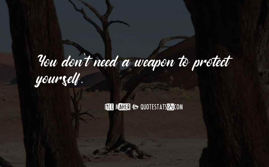 Quotes About Guns And Protection #17639