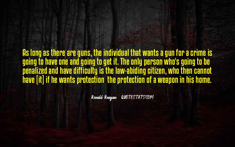 Quotes About Guns And Protection #1875110