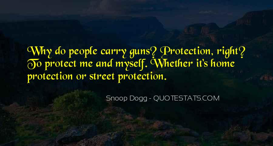 Quotes About Guns And Protection #622970