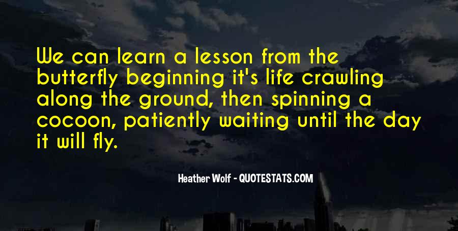 Quotes About The Importance Of Life Lessons #1077903