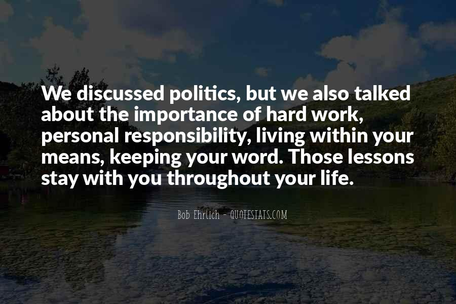 Quotes About The Importance Of Life Lessons #1780638