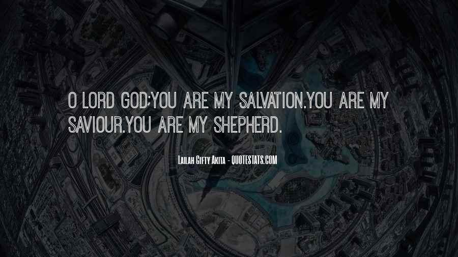 Quotes About The Lord Is My Shepherd #1247022