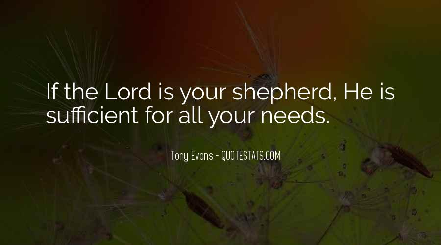 Quotes About The Lord Is My Shepherd #1404582