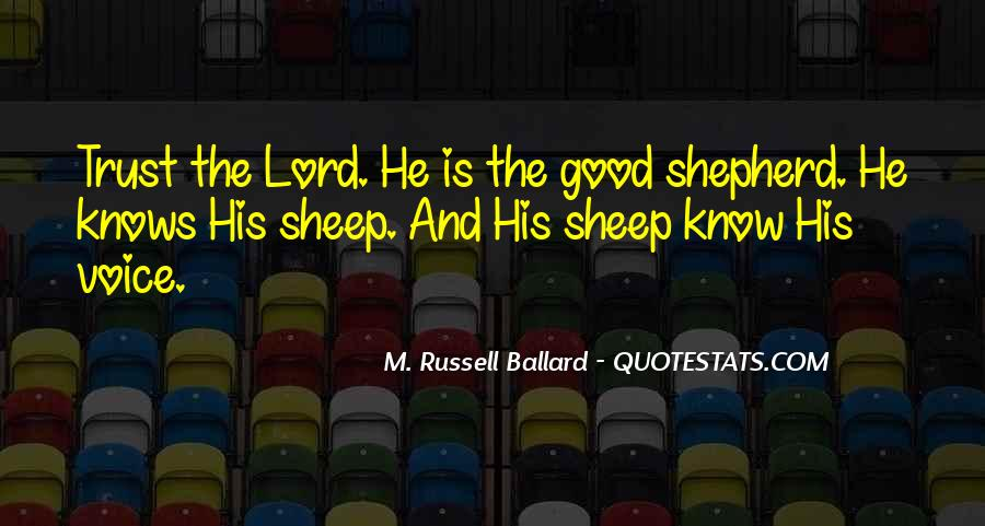 Quotes About The Lord Is My Shepherd #1449541