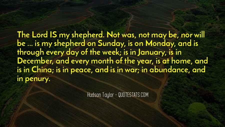 Quotes About The Lord Is My Shepherd #408113