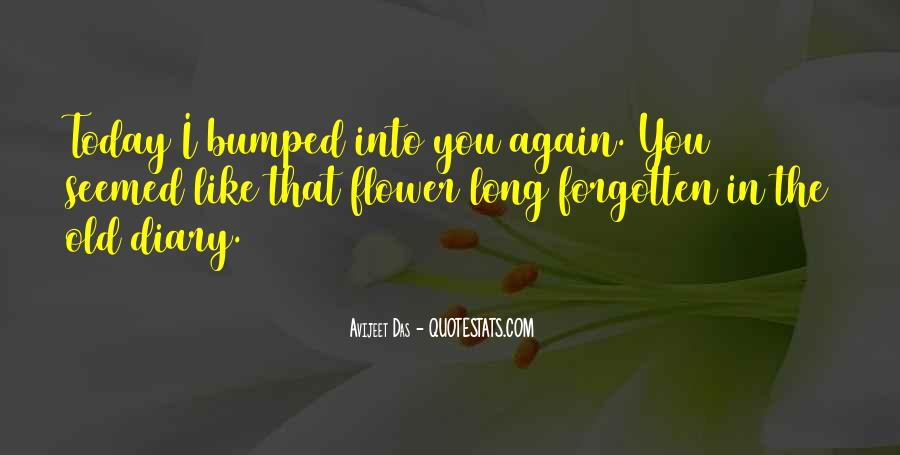 Quotes About Meeting An Old Love #1599146