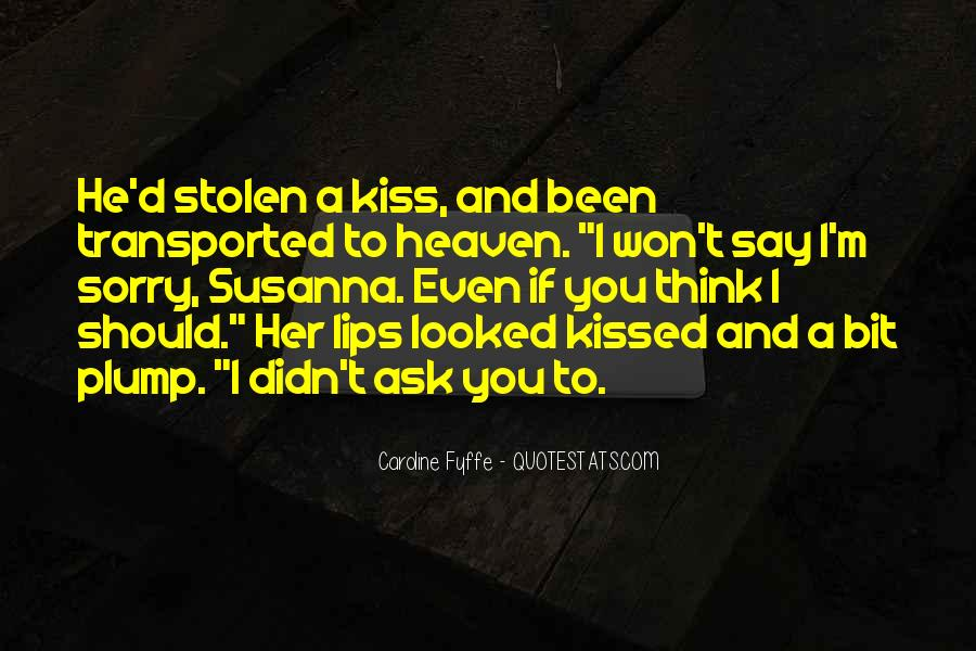 Quotes About Plump Lips #1780086