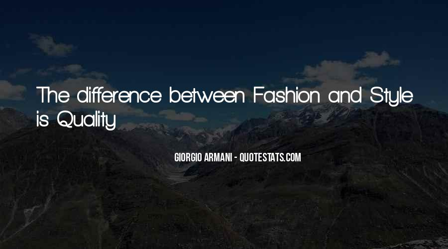 Quotes About Fashion And Style #1036515