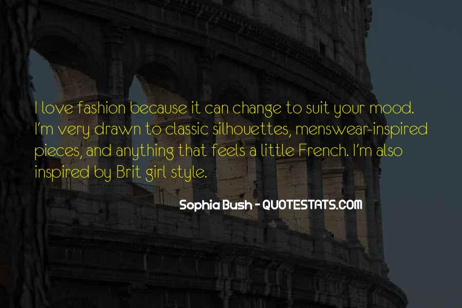 Quotes About Fashion And Style #109302