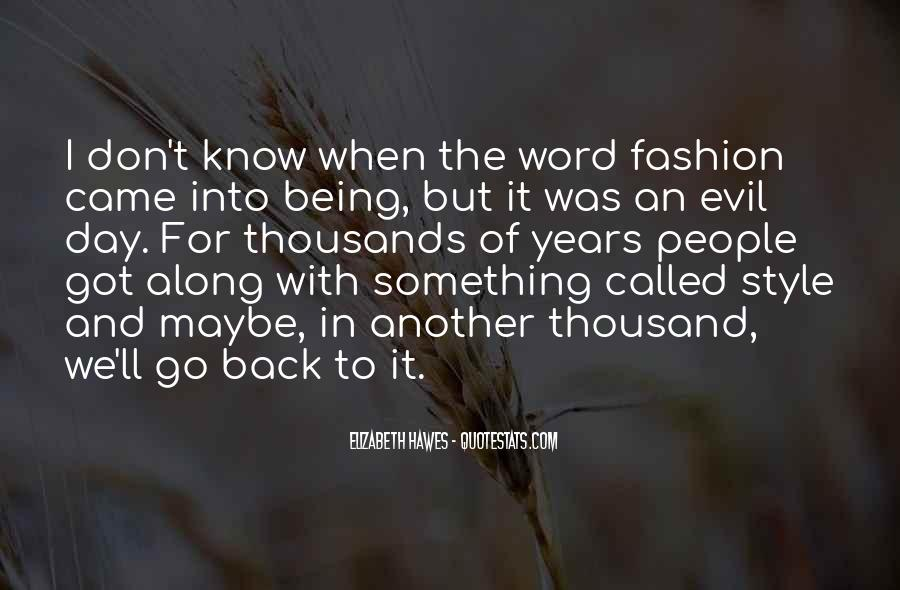Quotes About Fashion And Style #210403