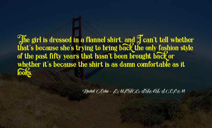 Quotes About Fashion And Style #259426