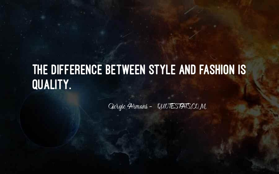 Quotes About Fashion And Style #333471