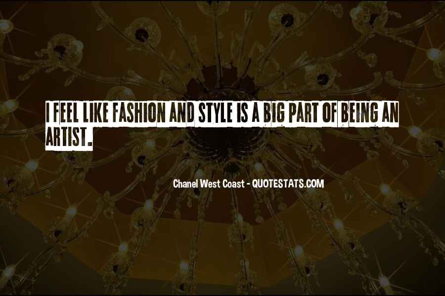 Quotes About Fashion And Style #56187