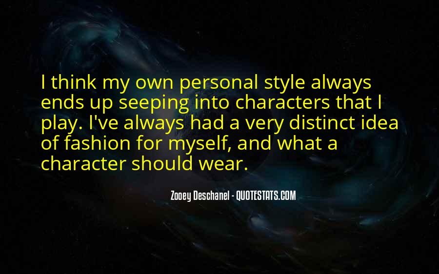 Quotes About Fashion And Style #677286