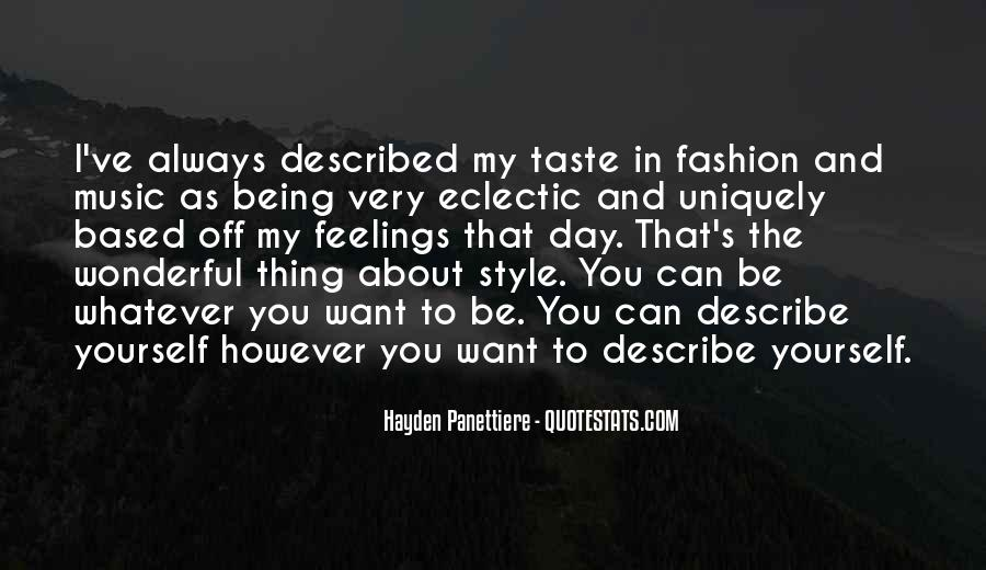 Quotes About Fashion And Style #679881