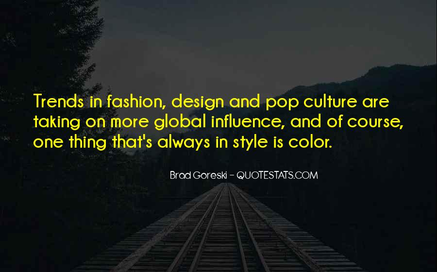 Quotes About Fashion And Style #876090