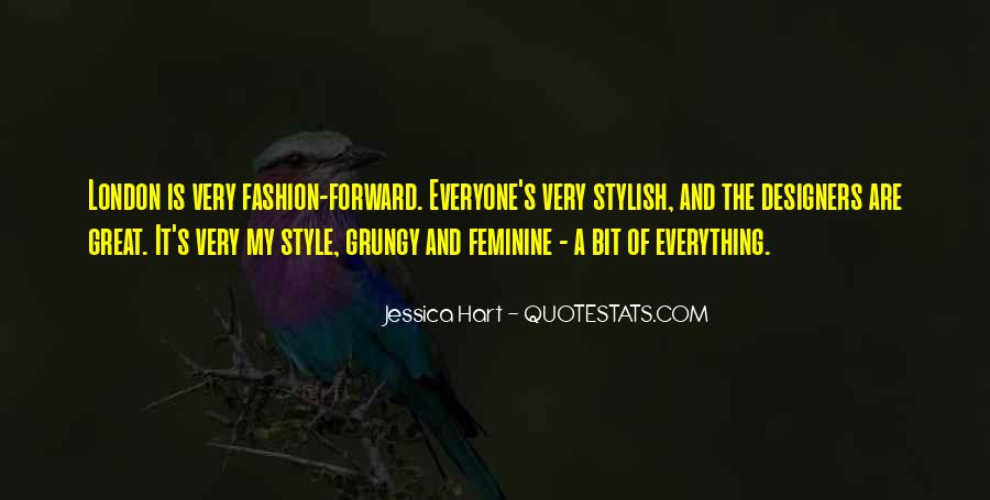 Quotes About Fashion And Style #919958
