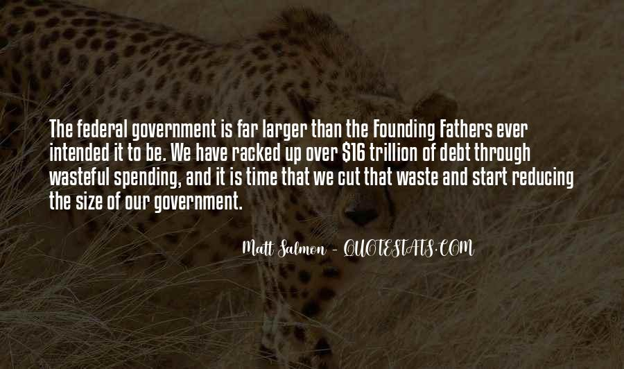 Quotes About Government Spending #1023892