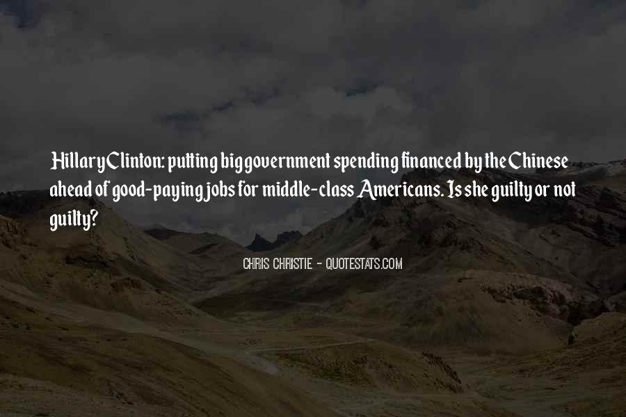 Quotes About Government Spending #1034902