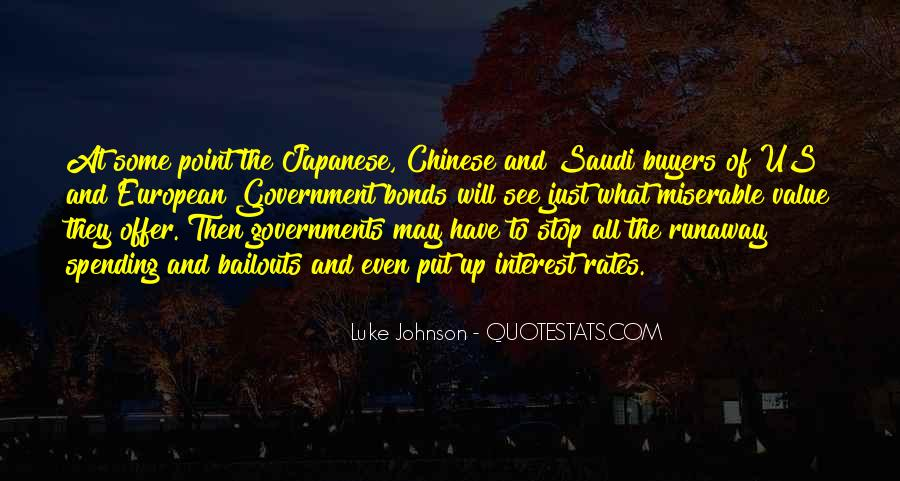 Quotes About Government Spending #125263