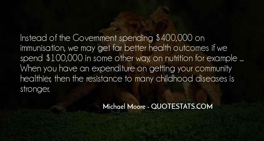 Quotes About Government Spending #137186