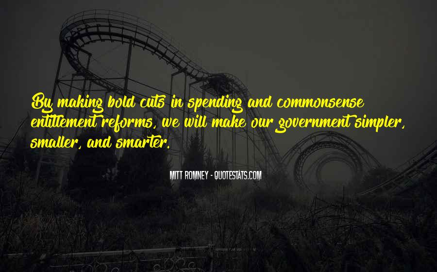 Quotes About Government Spending #222239