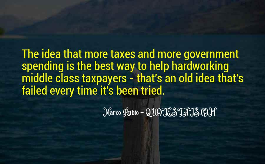 Quotes About Government Spending #242715