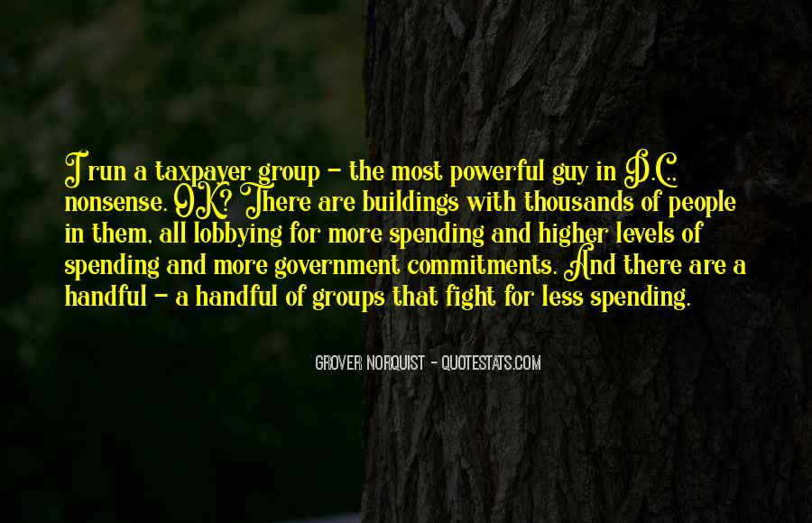 Quotes About Government Spending #408287