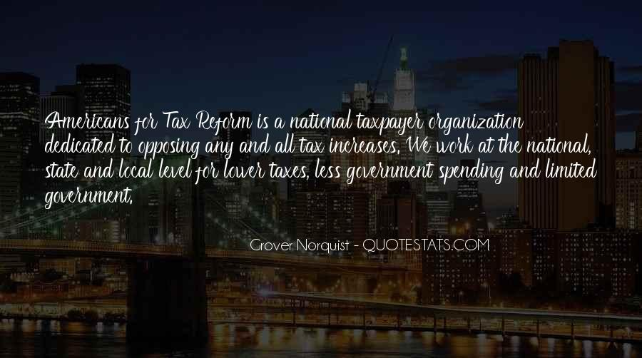 Quotes About Government Spending #47414