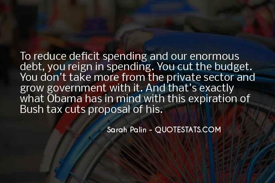 Quotes About Government Spending #60030