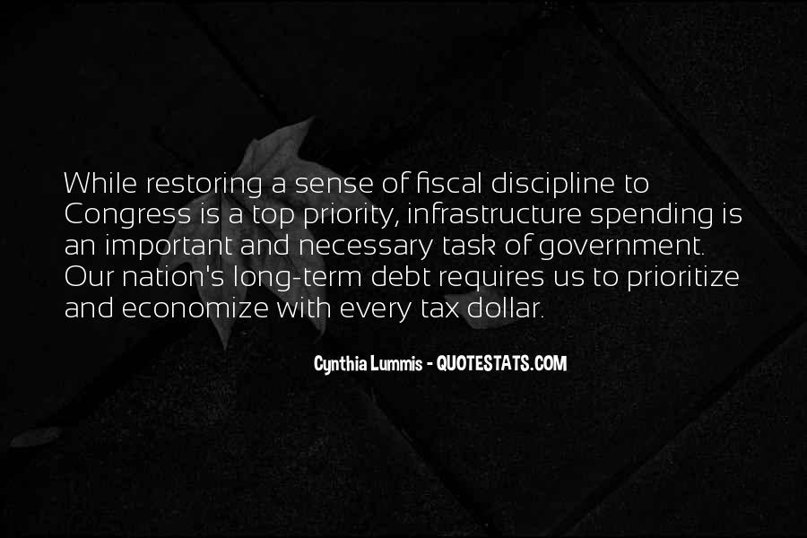 Quotes About Government Spending #62172