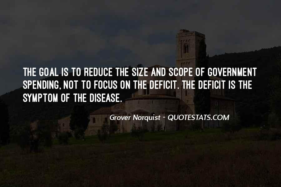 Quotes About Government Spending #64150