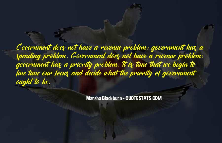 Quotes About Government Spending #663351