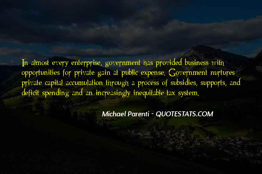 Quotes About Government Spending #713743