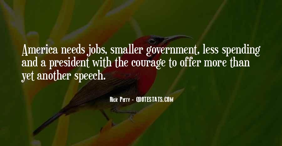 Quotes About Government Spending #849578