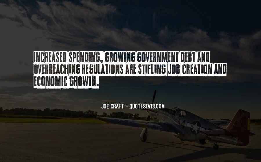 Quotes About Government Spending #898486