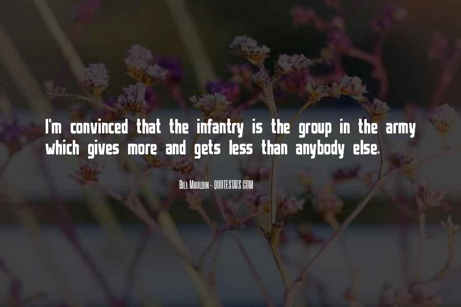 Quotes About The Us Army Infantry #1197840