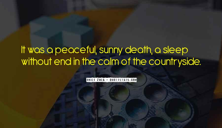 Quotes About Peaceful Death #135643