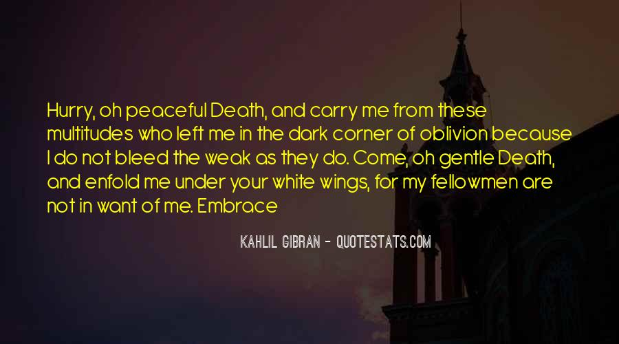 Quotes About Peaceful Death #156241