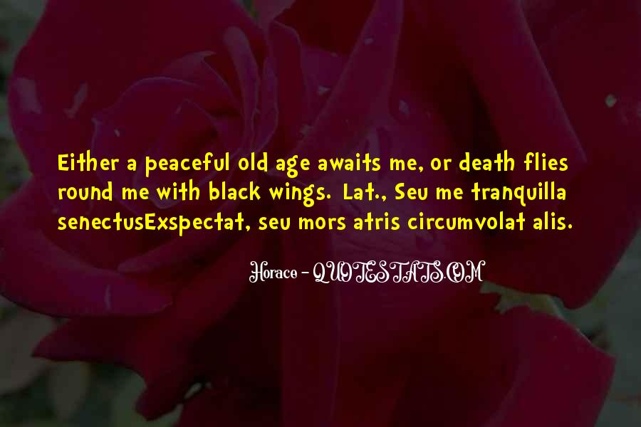 Quotes About Peaceful Death #733857